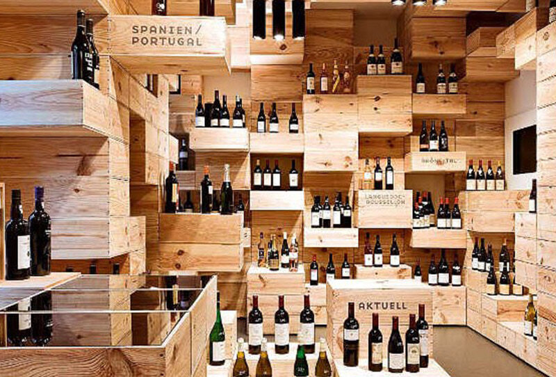Wine shops. «There are two types of people. I don't have money, I can't do anything and I don't have money, I must do something» Premium Edition MBS® Reserva