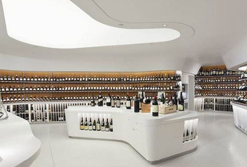 Wine shops. «When I saw you I fell in love, and you smiled because you knew it» WHITE Edition