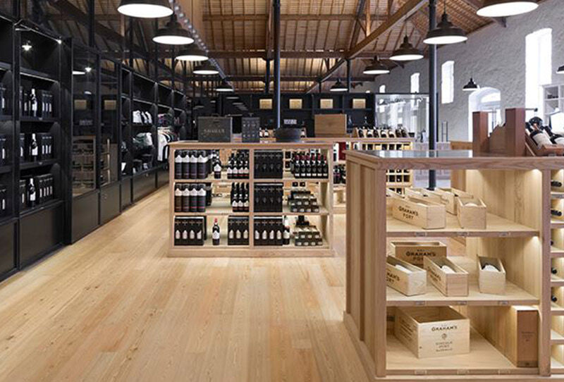 Wine shops. «After certain hells, not just any demon burns you» WHITE Edition